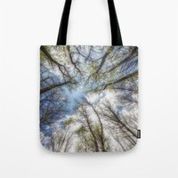 Looking Up To The Sky Tote Bag