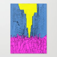Living For The City Canvas Print