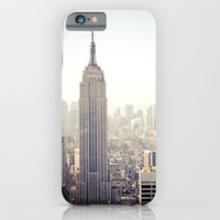 iPhone & iPod Case featuring New York City, Empire State Building by Thomas Richter