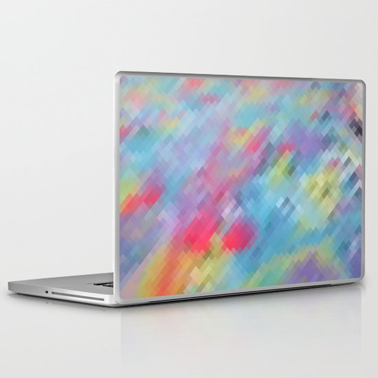 Wrinkle Pixel Laptop & iPad Skin