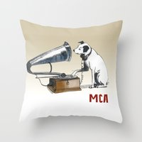 ANALOG Zine Throw Pillow