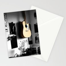 ART STUDIO - GUITAR Stationery Cards