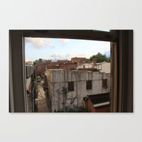 Rooftop Haven Canvas Print