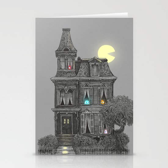 Haunted by the 80's Stationery Card