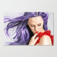 Red! Canvas Print