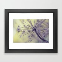 Yesterday Is But Today's… Framed Art Print