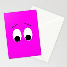 I is Shocked Stationery Cards