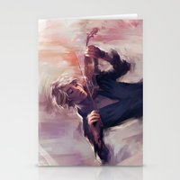 Violin and James Carstairs Stationery Cards