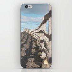 ragged wood... iPhone & iPod Skin