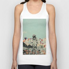 Lonely Diver Unisex Tank Top