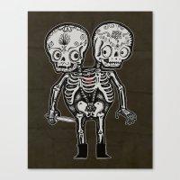 Twinsies Canvas Print