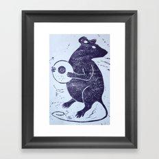 The Rat Framed Art Print