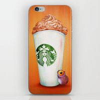 Little Owl Loves His Pum… iPhone & iPod Skin