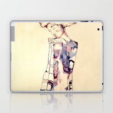 Purple Lady Laptop & iPad Skin