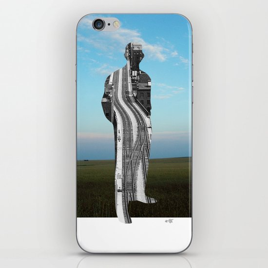 City Man´s Dream Collage iPhone & iPod Skin
