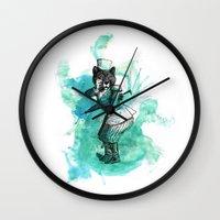 Carnival Bear Time Trave… Wall Clock