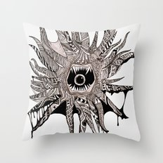 Ink'd Kraken Throw Pillow