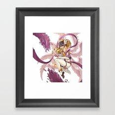 Angewomon Framed Art Print
