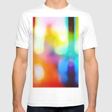 Be Yourself. Mens Fitted Tee White SMALL