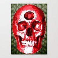Third Eye Bones (Paisley… Canvas Print