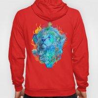 Fire Lion Hoody