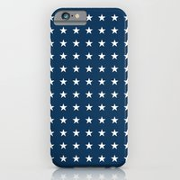 Blue and White Stars iPhone 6 Slim Case