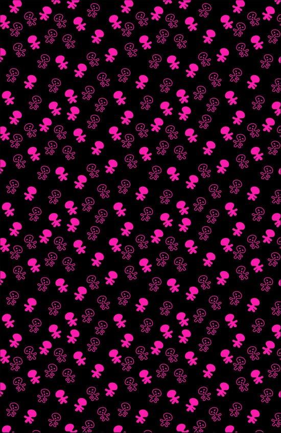 Aliens-Pink Art Print