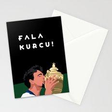 Goran Ivanisevic - Wimbledon trophy kiss Stationery Cards