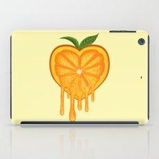 Love Orange iPad Case