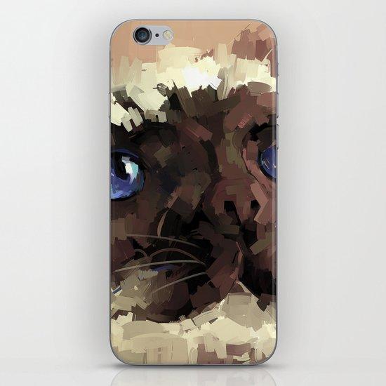 Himalaya cat(peaceful) iPhone & iPod Skin