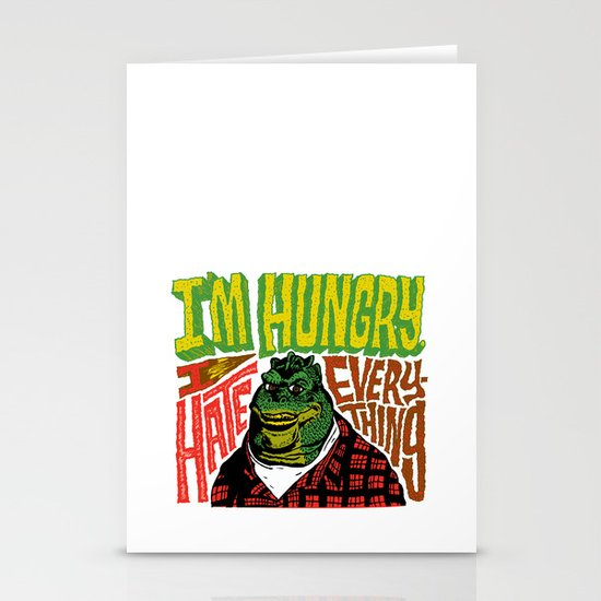 Hungry Earl Stationery Card