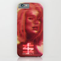 iPhone & iPod Case featuring DEFAULT by Galvanise The Dog
