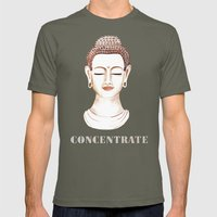 Buddha Concentrate Mens Fitted Tee Lieutenant SMALL