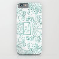 iPhone & iPod Case featuring smile you're on camera by Krist Norsworthy