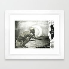 Time To Stop Hiding From InEquality Framed Art Print
