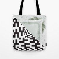 Waves/grid #2 Tote Bag