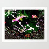 aquarium Art Print