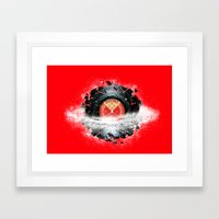 Breaking The Space Tune Framed Art Print