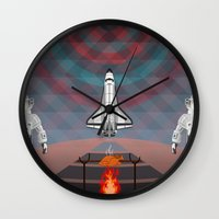 Space Tourism  Wall Clock