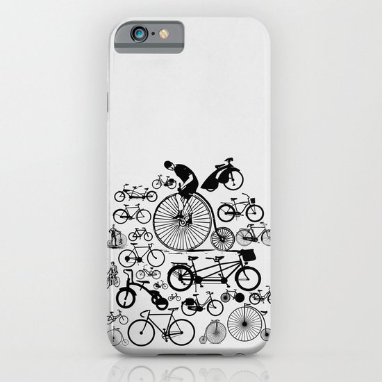 Bicycles iPhone & iPod Case
