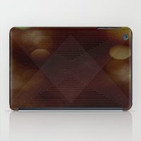 Bokeh Triangle iPad Case