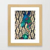 GEE WIZZ Framed Art Print