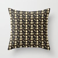 Flowers and again Throw Pillow