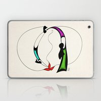 Ritual fire dance Laptop & iPad Skin