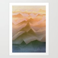 Top of the World (Sunrise) Art Print