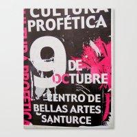9 DE OCTUBRE Canvas Print