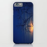 iPhone & iPod Case featuring Penumbral Lunar Rising by Augustina Trejo