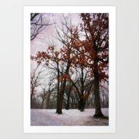 Winter Mood Art Print