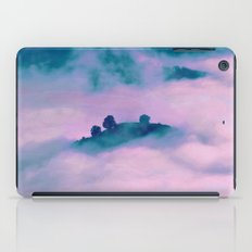 Forest land fog iPad Case