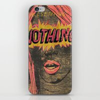 Presenting NOTHING iPhone & iPod Skin